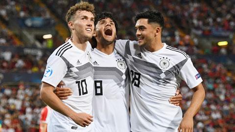 U21 Đức mơ hai lần liên tiếp vô địch