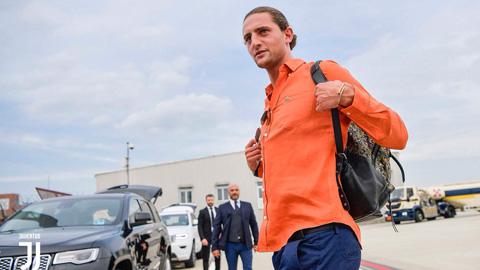 Rabiot có mặt tại Turin, chuẩn bị gia nhập Juventus