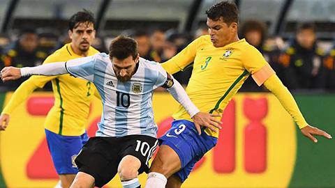 Thiago Silva ca ngợi Messi xuất sắc nhất lịch sử