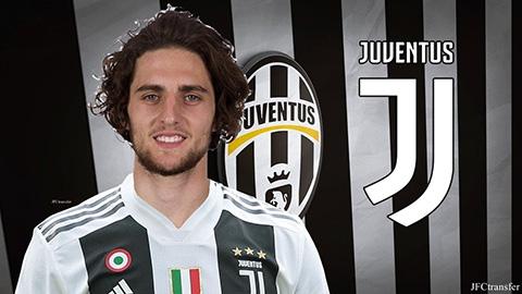 Rabiot chính thức ra mắt Juventus