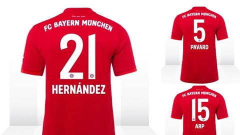 Bayern chốt số áo cho 3 tân binh, chi 100 triệu euro mua Dembele?