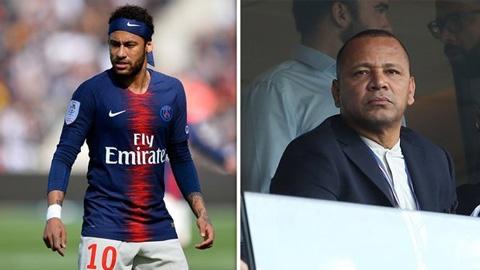 Bố Neymar phủ nhận chuyện đàm để trở lại Barca