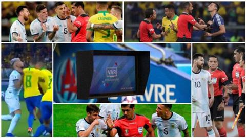 VAR gặp sự cố trước trận Brazil - Argentina vì... Tổng thống Brazil