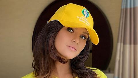 Cô nàng phá đám chung kết Champions League bị bắt ở Brazil