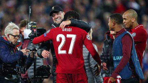 Liverpool không cần chuyển nhượng
