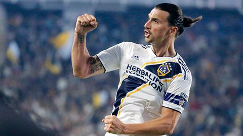 Ibrahimovic nhận giải Cầu thủ xuất sắc nhất MLS
