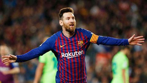 10 VĐV thể thao có thu nhập cao nhất thế giới trong năm qua :Messi lần đầu lên đỉnh