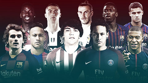 Griezmann lọt vào top 10 cầu thủ đạt giá trị chuyển nhượng 100 triệu euro