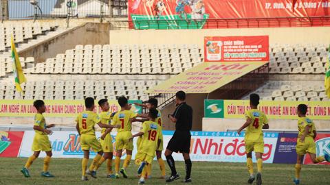 Đánh bại U13 Thành Vinh, SLNA lần thứ 7 vô địch U13 toàn quốc