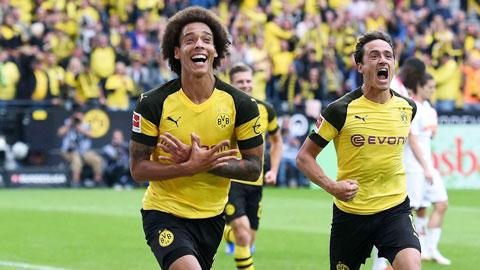 Axel Witsel, yếu nhân của Dortmund