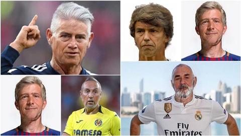 Messi, Neymar, Ronaldo & các siêu sao về già trông sẽ như thế nào?