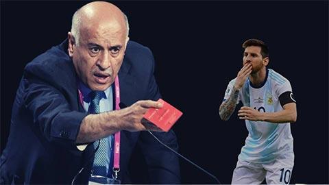 Chủ tịch LĐBĐ Palestine lĩnh hậu quả vì xúc phạm Messi