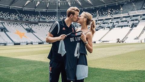 De Ligt: 'Tôi đến Juve không phải vì Ronaldo'