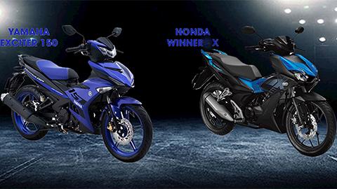 Honda Winner X, Yamaha Exciter 150 và Suzuki Raider 2019: Đâu mới là xe côn tay số 1?