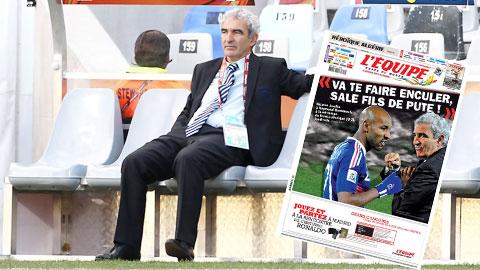Nhìn lại scandal của ĐT Pháp tại World Cup 2010