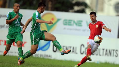 Trước vòng 15 giải hạng Nhất QG - Cúp LS 2019: Ngóng Hà Tĩnh, ngó về Long An