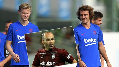 Người cũ Iniesta nói gì về 2 tân binh De Jong và Griezmann của Barca?