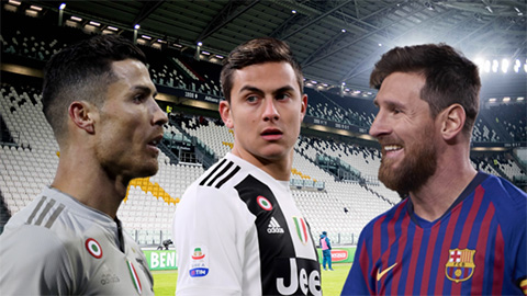 Trời sinh Dybala, sao còn sinh Messi và CR7?