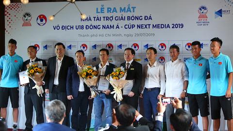 Giải vô địch U18 Đông Nam Á 2019 được nhiều nhà tài trợ chăm chút