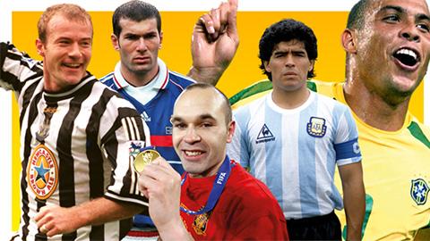 Top 20 cầu thủ xuất sắc nhất trong 25 năm qua (kỳ 2)