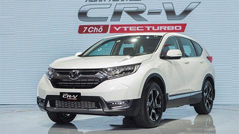 Honda CR-V giảm giá 70 triệu đồng 'quyết đấu' Hyundai Santa Fe 2019