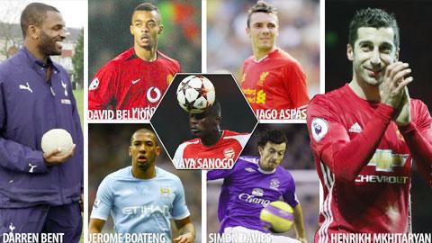 Top 10 cầu thủ 'thử kêu đốt xịt'