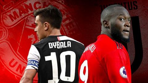 M.U & Juventus đồng ý trao đổi Lukaku lấy Dybala