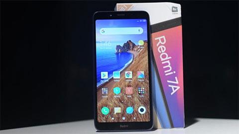 Xiaomi Redmi 7A chạy Snapdragon 439, pin 4000mAh về Việt Nam với giá 2,39 triệu
