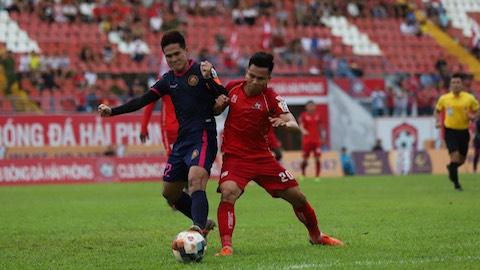 Hải Phòng 1-2 Sài Gòn FC: 3 điểm may mắn