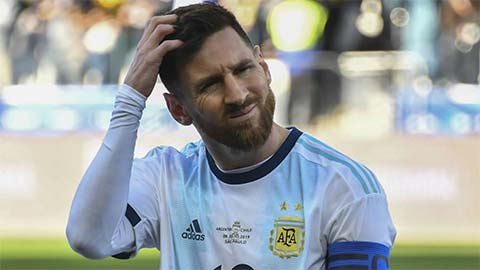 Messi bị cấm thi đấu cho tuyển Argentina 3 tháng
