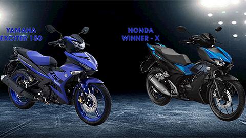 Honda Winner X giá từ 46 triệu, đang bị yếu thế so với Yamaha Exciter 150 2019?