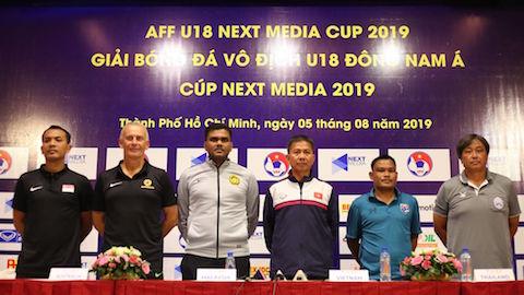 HLV Hoàng Anh Tuấn tự tin trước giờ mở màn giải vô địch U18 Đông Nam Á 2019