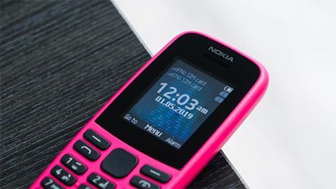 Nokia 105 2019 hỗ trợ 2 SIM, pin 800mAh về Việt Nam với giá 360 ngàn đồng