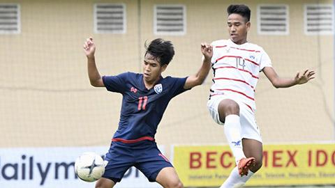 Giải U18 Đông Nam Á 2019: Thái Lan thua sốc Campuchia