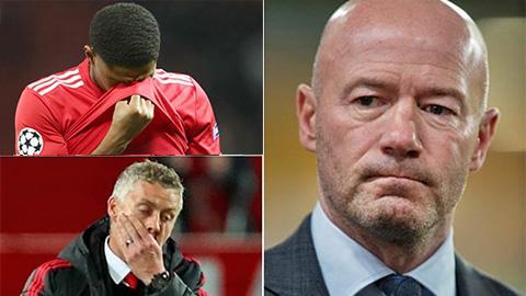 Alan Shearer chê M.U còn lâu mới bắt kịp Man City và Liverpool