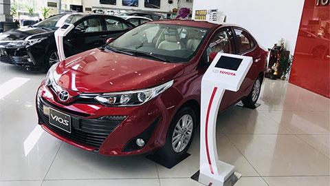 Toyota Vios, Honda City thi nhau giảm giá mạnh đầu tháng 8/2019