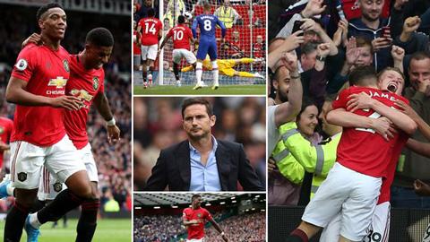 7 điều rút ra từ chiến thắng của M.U trước Chelsea