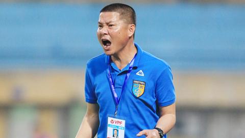 HLV Chu Đình Nghiêm (Hà Nội FC): 'Chúng tôi không được phép chủ quan...'
