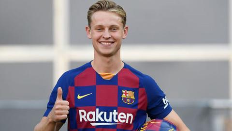 De Jong, người sinh ra là để chơi cho Barcelona