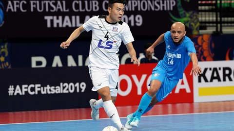 Vùi dập đội bóng Trung Quốc, Thái Sơn Nam giành vé bán kết