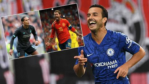 Pedro so sánh Van Dijk với Ramos trước thềm Siêu Cúp châu Âu