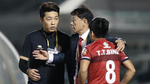 HLV Chung Hae Seong: 'Chúng tôi vẫn chưa thể nghĩ đến cuộc đua vô địch'