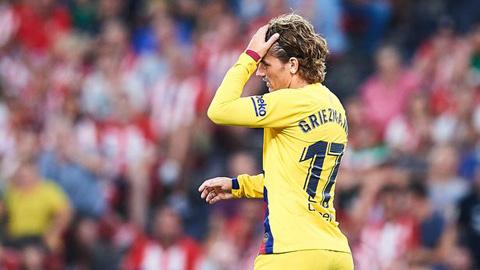 Griezmann có cơ hội khoác 2 số áo tại Barca mùa này