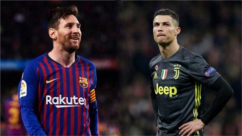 Siêu máy tính cho điểm Messi và Ronaldo thế nào?