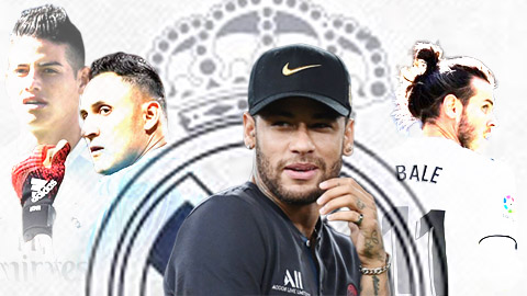 Chuyển nhượng 22/8: PSG từ chối đề nghị 'siêu khủng' của Real dành cho Neymar