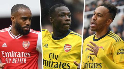 Aubameyang đánh giá bộ ba tấn công Arsenal ngang cơ Liverpool