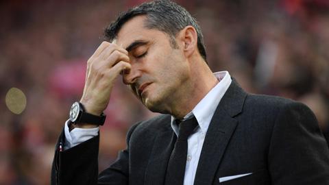 Barcelona: Valverde đau đầu giải bài toán hàng công