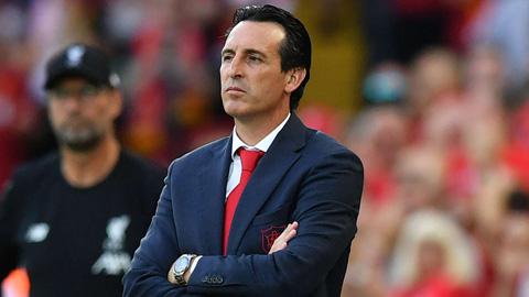 Emery lạc quan dù Arsenal thua đậm Liverpool