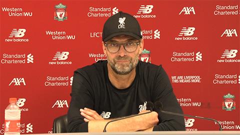 HLV Klopp ngạc nhiên với chiến thuật Arsenal áp dụng trước Liverpool