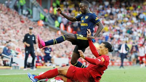 Arsenal thua trận, Nicolas Pepe vẫn để lại dấu ấn